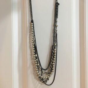 J.Crew multi strand necklace